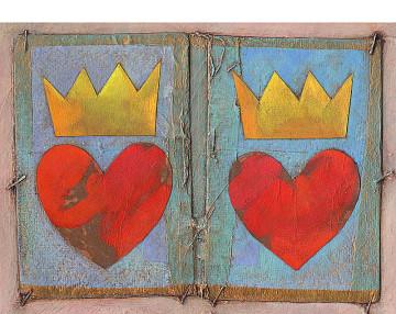 Herz, Krone, Ziegenfeuter