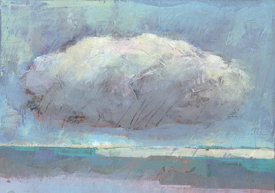 Peace, Frieden, Ruhe, Ewigkeit, cloud,Landschaft, landscape, acrylic painting