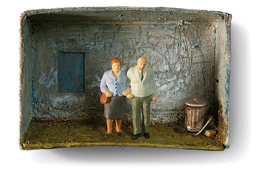 Altersarmut, Armut im Alter,
