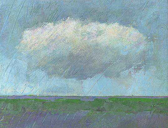 Dieter Ziegenfeuter, Frieden, Peace, landscape with cloud, landschaft, wolke, dieter ziegenfeuter