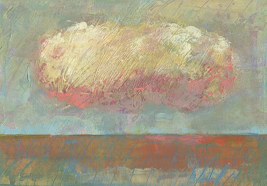 Dieter Ziegenfeuter, Frieden, Peace, landscape with cloud, wolke, landschaft