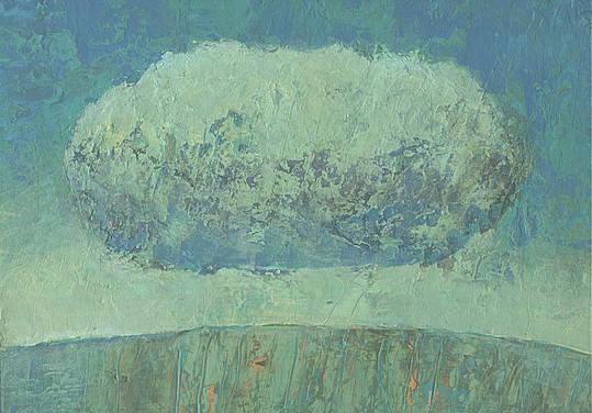 Dieter Ziegenfeuter, Sturmwolke, Landschaft