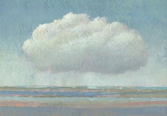 Landschaft, Dieter Ziegenfeuter, Wolke, Prof. Dieter Ziegenfeuter Dortmund,