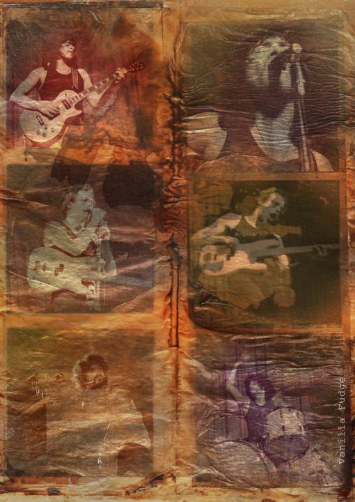 Rock Musik, Siebziger Jahre, Negative, Dias, Dieter Ziegenfeuter, Illustration, Grafik-Design, Dortmund, Konzert in Düsseldorf