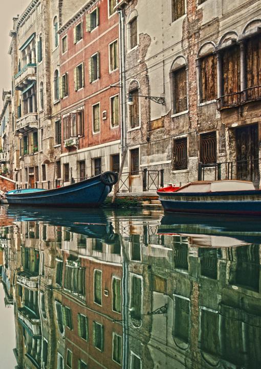 Venedig, Italien, Fotografie, Bildbearbeitung, Illustration, Grafik-Design, Dieter Ziegenfeuter, Dortmund,