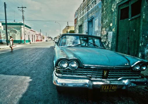 Fotografie, Illustration, Grafik-Design, Malerei, Visuelle Kommunikation, Dieter Ziegenfeuter, Dortmund, Straßenkreuzer, Mexico, siebziger Jahre,