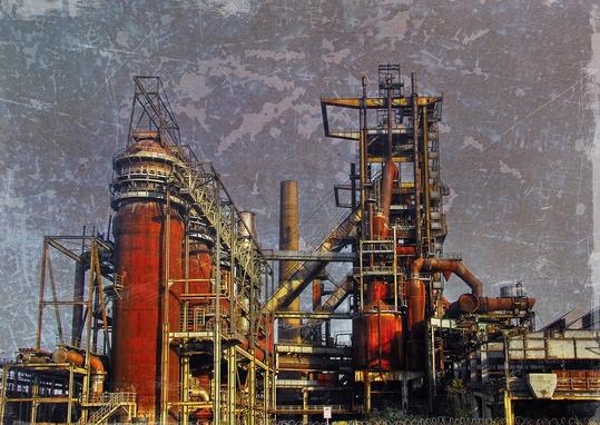 Dortmund Hörde, Ruhrgebiet, Industrieruine, Dieter Ziegenfeuter, Fotografie, Grafik-Design,