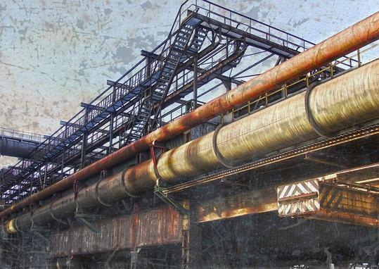 Phönix West, Dortmund Hörde, Ruhrgebiet,Stahlwerk, Industrieruine,Ziegenfeuter, Fotografie