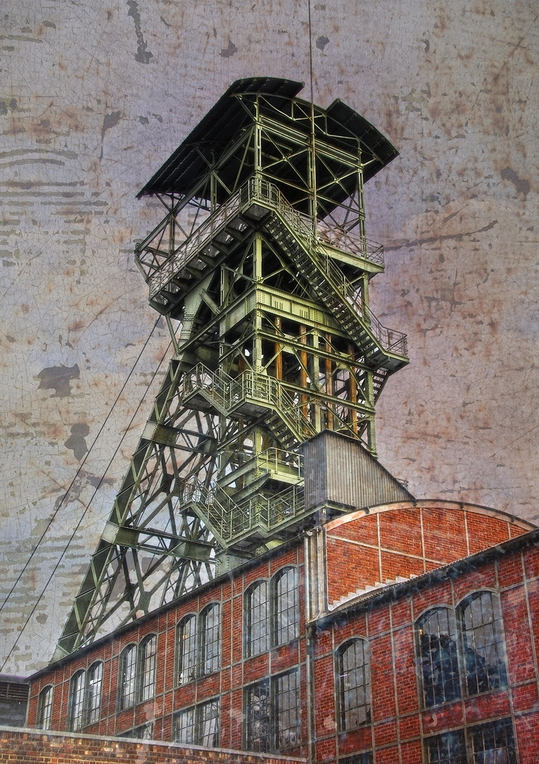 Zeche Zollern, Dortmund, Ruhrgebiet, Route der Industriekultur, Fotografie Dieter Ziegenfeuter,