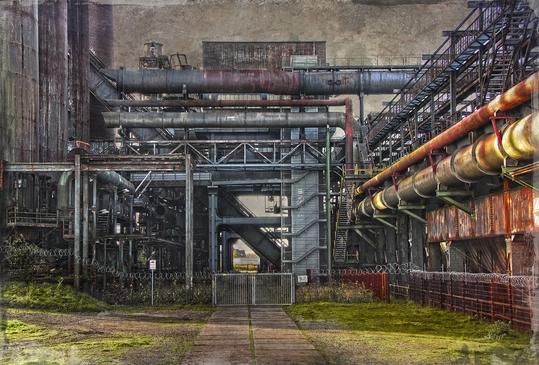Phönix West, Dortmund, Dortmund Hörde, Ruhrgebiet, Fotografie Dieter Ziegenfeuter