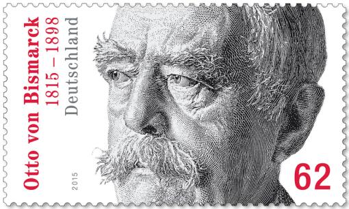 Gestaltung: Prof. Dieter Ziegenfeuter, Dortmund, Otto von Bismarck
