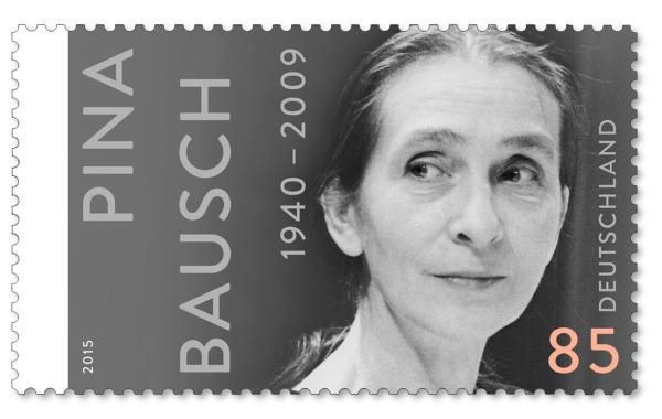 »75 Geburtstag Pina Bausch«, Erstausgabetag: 1. 07. 2015  Auftraggeber: Bundesministerium der Finanzen«, Bild: Wilfried Krüger